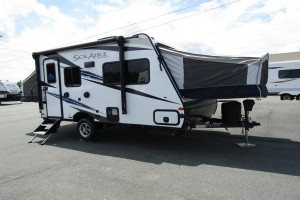 New 2021 Palomino SolAire Expandables 147X Hybrid Trailer